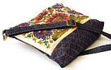 Женская джинсовая стеганная сумочка Астры, фото 5