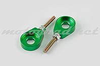 """Натяжитель цепи трансмиссии 12mm (зеленый) """"RIDE IT"""""""
