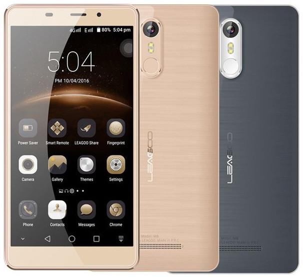 "Смартфон Leagoo M8 Gold, 2/16Gb, 13/8Мп, 3500mAh, 5.7"" IPS, 2sim, 4 ядра, GPS, 3G, Android 6.0"