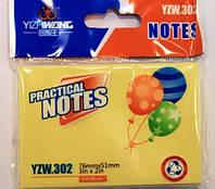 _Бумага с липким слоем YZW302 76x51 (100 листов)