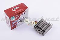 "Реле зарядки Zongshen, Lifan 125/150 (3+3 провода) ""JIANXING"""