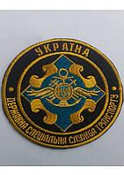 Шеврон ДССТ парадная круглая  на липучке