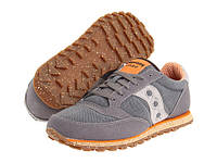 Кроссовки мужские Saucony Originals Jazz Low Vegan - Charcoal/Orange, фото 1