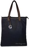 Женская сумка планшет синяя