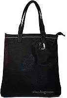 Женская сумка планшет черная