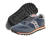Кроссовки мужские Saucony Originals Jazz Low Vegan - Grey/Red, фото 1
