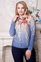 Женская блуза большого размера 52-58 SV 1175