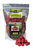 Бойлы растворимые CarpZone Soluble EuroBase Boilies Strawberries (Клубника)