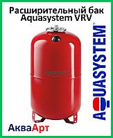 Расширительный бак Aquasystem VRV 150 (150 л. вертикальный с ножками красный)