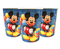 """Стаканчики паперові дитячі """"Міккі Маус"""" 10 шт/уп."""