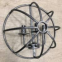 Настенный светильник клетка loft [ Шар ] античный серый