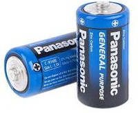 Батарейки PANASONIC R14 С