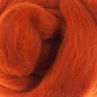Шерсть мериноса топс Италия DHG 18мкм - цвет тыква