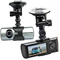 Практичный видеорегистратор Car DVR R300 с двумя камерами. Высокое качество. Интернет магазин. Код: КДН1548