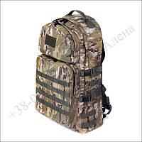 Тактический рюкзак 60 литров мультикам для военных, туристов, рыбалки кордура