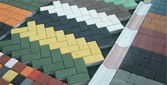 Плитка Кирпич 60 мм, цветная, любой цвет. Купить в Днепропетровске