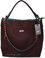 Женская сумка из эко кожи с цепочкой