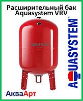 Расширительный бак Aquasystem VRV 200 (200 л. вертикальный с ножками красный)