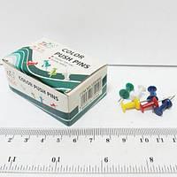 """Кнопки """"Гвоздик"""" 11985 силовые цветные (50 шт./уп. картон)"""