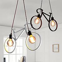 Подвесной потолочный светильник Loft [ A Bike ] , фото 1