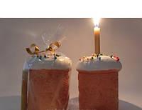 Сувенир-подсвечник керамика для свечи