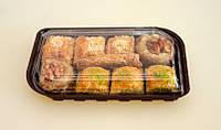 Контейнер для суши из полистирола с крышкой IT - 130 110*210  мм 650 мл 400 шт/ящ