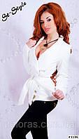 Пальто женское из кашемира короткое