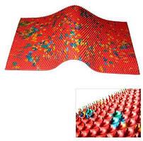 Аппликатор коврик , Аппликаторы Ляпко шаг иглы 7 мм, размер 275х480 мм.