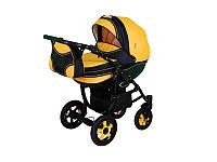 """Детская коляска 2в1 """"Discovery"""" желтая"""