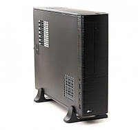 Корпус ProLogix M02/101 Black PSMS-400-8cm; MicroATX/ITX, 2 hdd, 2 sata, CardReader microSD/SD