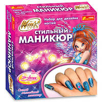 Дизайн ногтей Winx Блум