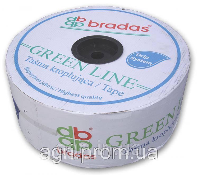 Капельная лента GREEN LINE 7 mil 20 см (бухта 1000м). Капельный полив