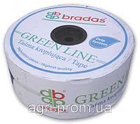 Капельная лента GREEN LINE 7 mil 20 см (бухта 1000м). Капельный полив, фото 1