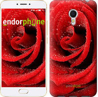 """Чехол на Meizu MX6 Красная роза """"529c-259"""""""