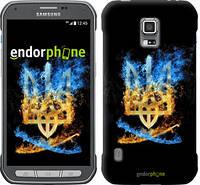 "Чехол на Samsung Galaxy S5 Active G870 Герб ""1635u-364"""