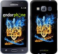 "Чехол на Samsung Galaxy J1 (2016) Duos J120H Герб ""1635c-262"""