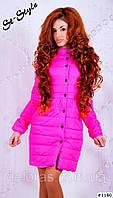 Женское пальто наполнитель силикон