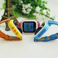 Купить детские часы с gps трекером оптом, детские часы q80, детские смарт часы с gps,  детские часы