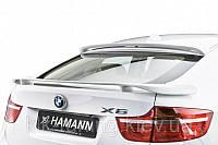 Спойлер на заднее стекло BMW X6 E71 (Hamman)