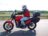 Мотоцикл GEON Tourer 350, лучший мотоцикл для туризма