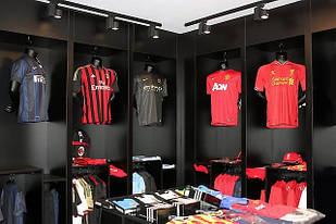 Футбольные футболки клубов и сборных