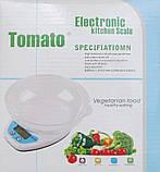 Кухонные весы Qz-129 до 5 кг с чашей и подсветкой, фото 2