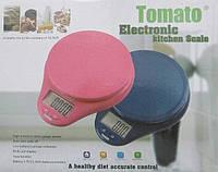 Кухонные весы Tomato 116 до 5 кг с подсветкой