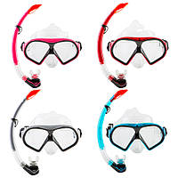 Набор для плавания (маска с трубкой) Dolvor