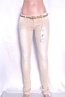 Цветные  женские джинсы