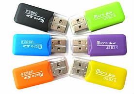 Картридер TransFlash USB 2.0 для карт микроSD