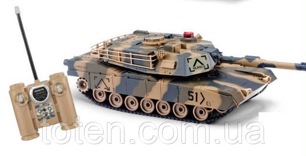 Радиоуправляемая модель большая танка HQ-549 Абрамс