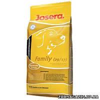 Josera (Йозера) Family сухой корм для кормящих или беременных сук и щенков до 8-й недели, 15 кг.