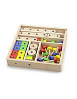 Конструктор «Viga Toys» (50490VG) деревянный, 53 элемента