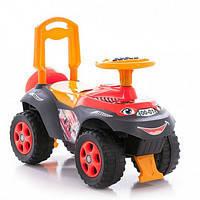 Машинка-каталка Автошка с музыкальным рулем, фото 1